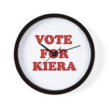 Vote for KIERA Wall Clock