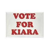 Vote for KIARA Rectangle Magnet (10 pack)