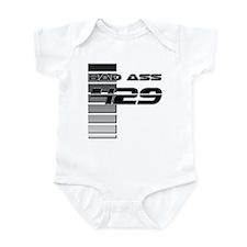 Bad Ass 429 w/ Stripes Infant Bodysuit