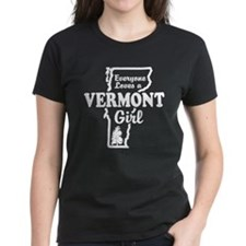 Everyone Loves a Vermont Girl Tee
