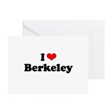 I love Berkeley Greeting Cards (Pk of 20)