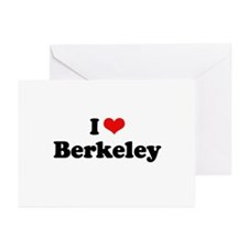 I love Berkeley Greeting Cards (Pk of 10)