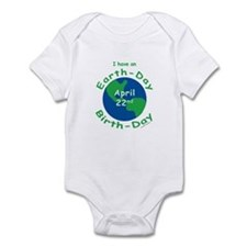 Earth Day Birthday Infant Bodysuit