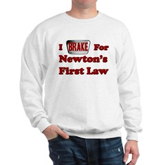 Physics Bumper Sticker Sweatshirt