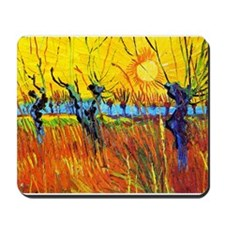 Cute Van gogh painting Mousepad