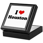 I love Houston Keepsake Box