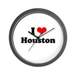 I love Houston Wall Clock
