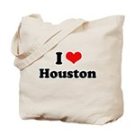 I love Houston Tote Bag