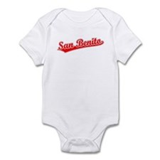 Retro San Benito (Red) Infant Bodysuit