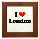 I love London Framed Tile