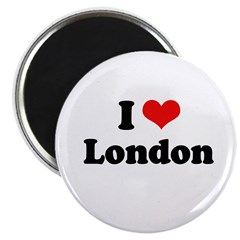 "I love London 2.25"" Magnet (10 pack)"