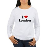 I love London Women's Long Sleeve T-Shirt