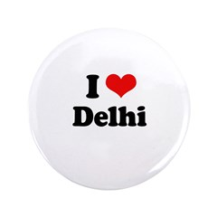 "I love Delhi 3.5"" Button"
