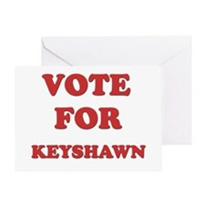 Vote for KEYSHAWN Greeting Card