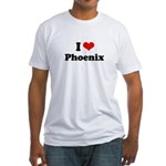 I love Phoenix Fitted T-Shirt