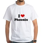 I love Phoenix White T-Shirt