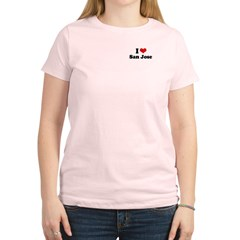 I love San Jose Women's Light T-Shirt