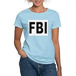 FBI (Front) Women's Pink T-Shirt
