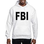 FBI (Front) Hooded Sweatshirt