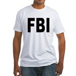 FBI Federal Bureau of Investigation Fitted T-Shirt