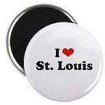 I love St. Louis Magnet