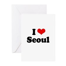 I love Seoul Greeting Cards (Pk of 20)