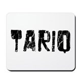 Tariq Faded (Black) Mousepad