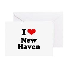 I love New Haven Greeting Card
