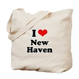 I love New Haven Tote Bag
