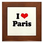 I love Paris Framed Tile