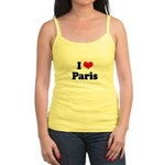 I love Paris Jr. Spaghetti Tank