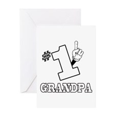 #1 - GRANDPA Greeting Card