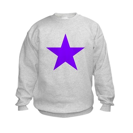 Purple Star Kids Sweatshirt