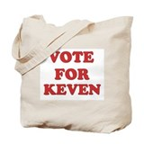 Vote for KEVEN Tote Bag