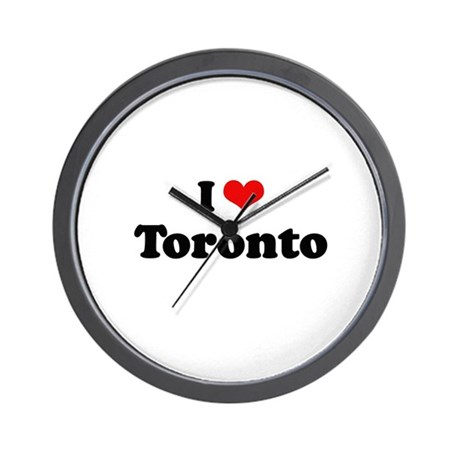 I love Toronto Wall Clock