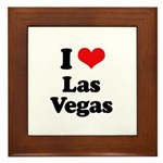 I love Las Vegas Framed Tile