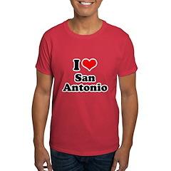 I love San Antonio Dark T-Shirt