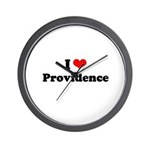 I love Providence Wall Clock