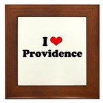 I love Providence Framed Tile