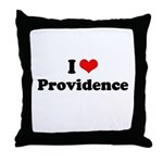 I love Providence Throw Pillow