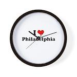 I love Philadelphia Wall Clock