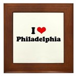 I love Philadelphia Framed Tile