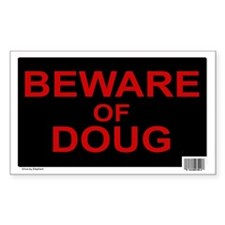 Beware of Doug (Rectangle 10 pk)