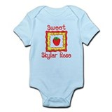 Sweet Skylar Rose Onesie