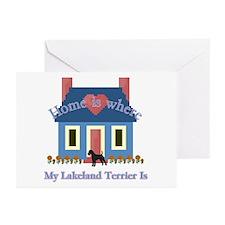 Lakeland Terrier Home Greeting Cards (Pk of 10)