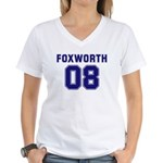 Foxworth 08 Women's V-Neck T-Shirt