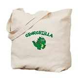 Georgezilla Tote Bag