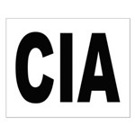 CIA Central Intelligence Agency Small Poster