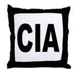 CIA Central Intelligence Agency Throw Pillow