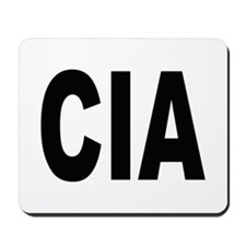 CIA Central Intelligence Agency Mousepad